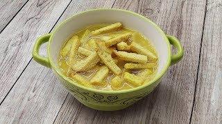 Как приготовить вкусный гороховый суп на копченых ребрышках