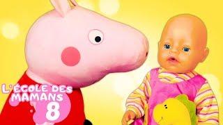 Vidéo en français pour enfants. Ecole des mamans № 8. Tapis d'éveil pour bébé born