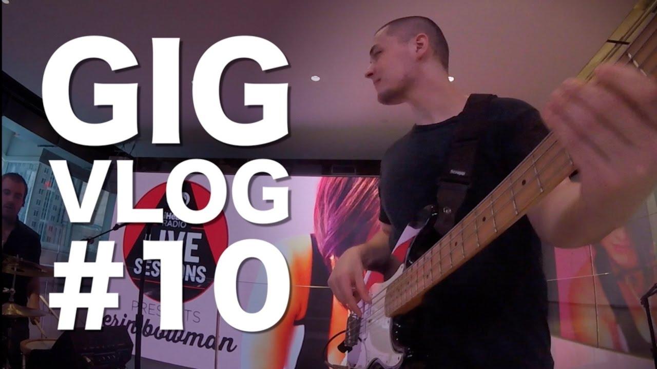 Gig Vlog #10 - Erin Bowman at iHeart Radio