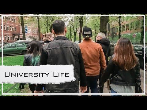 ПРОСТО ВЛОГ:день из жизни немецкого студента