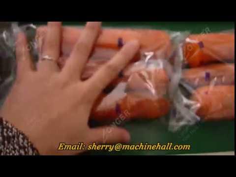 Flow Vegetable Packaging Equipment For Carrots For Sale