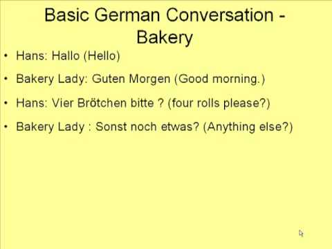 Easy german words to learn