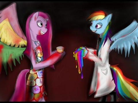 Cupcakes-Pinkie Pie X -Rainbow Factory Rainbow Dash
