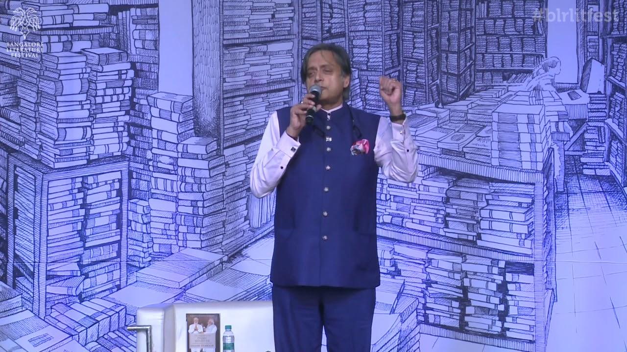 Shashi Tharoor S Tweet My Full Speech At The Bangalore Litfest On