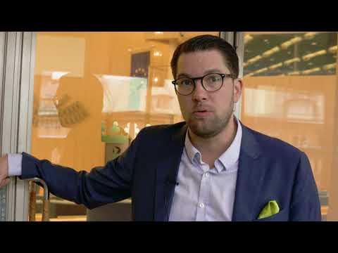 Jimmie Åkesson utmanar Ulf Kristersson på debatt.