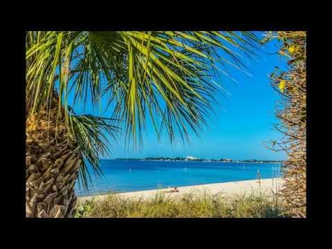 Cape Coral Beach Scene sh