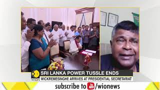 Ranil Wickremesinghe to be sworn in as PM of Sri Lanka today