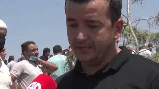 Родные погибшего Бахрома Гафури не могут сдержать слезы