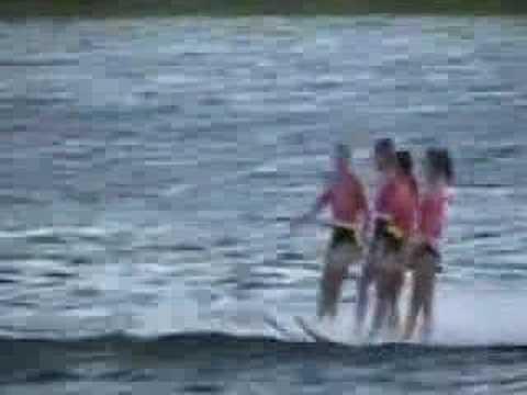 Tampa Bay Water Ski Show Team Sunlake Show part one