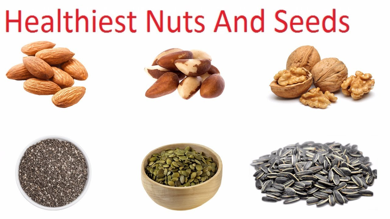 Healthiest Nuts And Seeds You Should Eat Every Day