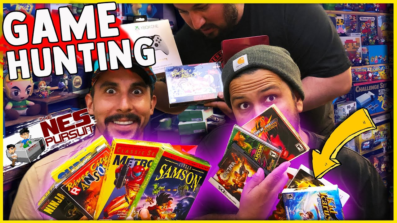 DEALS TOO GOOD TO PASS WHILE GAME HUNTING! (Live Video Game Hunting) TheNesPursuit EXPANSION PAK