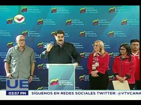 Maduro denuncia nuevo intento de golpe de Estado planificado por la Casa Blanca