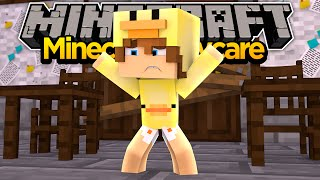 MINECRAFT ADVENTURE- BABY DUCK GETS TRAPPED IN DAYCARE!!
