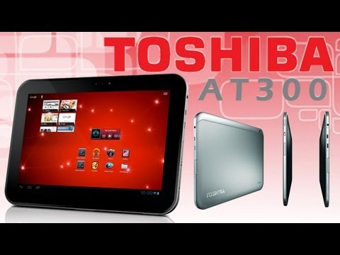 Toshiba AT300 Tablet review. Обзор планшета. Русский язык.