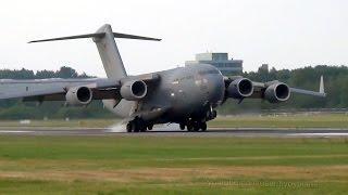Royal Air Force Boeing Boeing C-17 (ZZ174) Landing @ Hamburg Airport