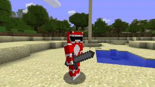 Minecraft - Power Rangers theme