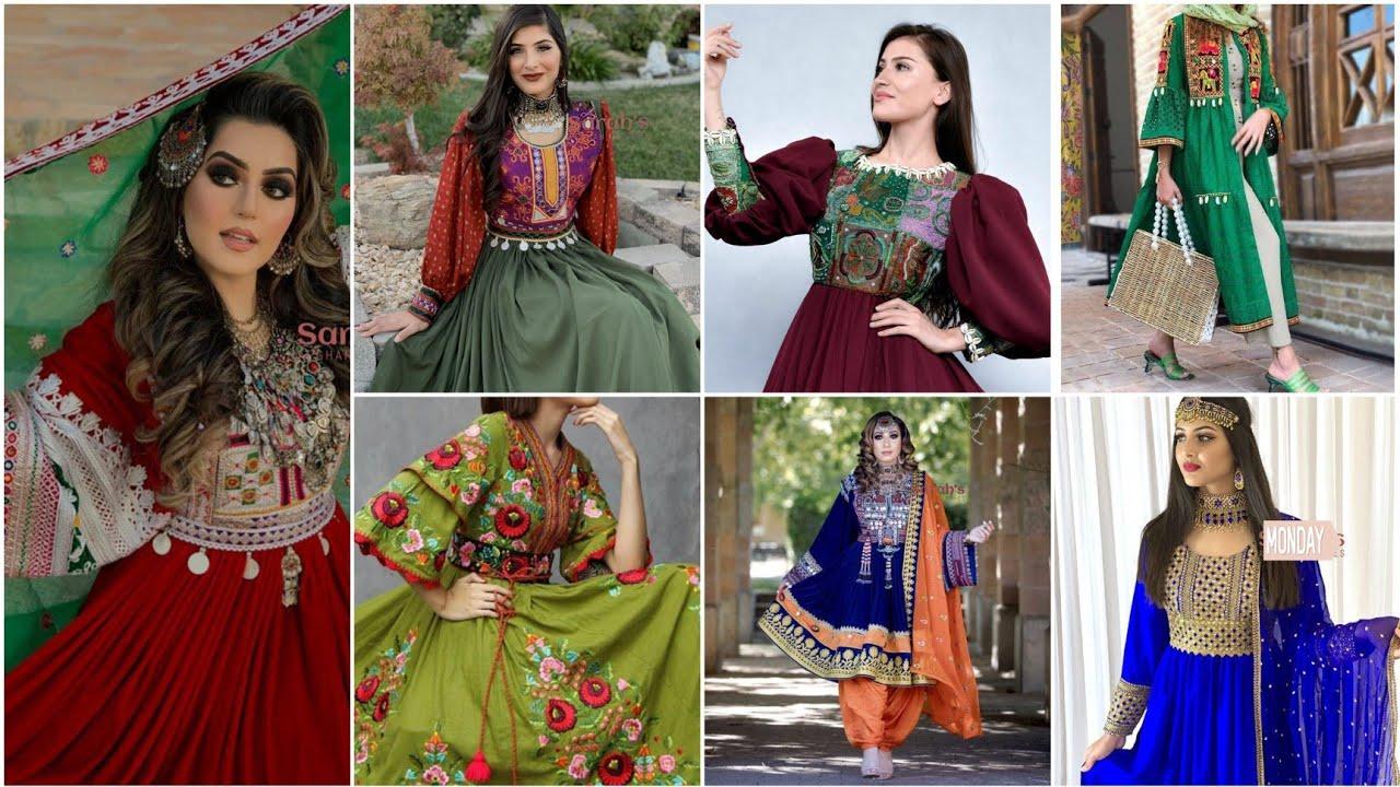 Download Top Stylish Pashto,Sindhi and Afghani Dress Design Ideas 2021.Top stylish Pathani frocks.