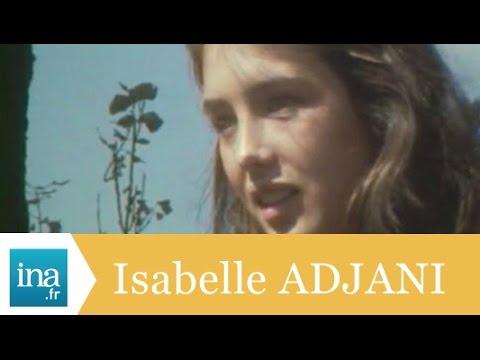 Isabelle Adjani 'J'aime la Comédie Française' - Archive INA