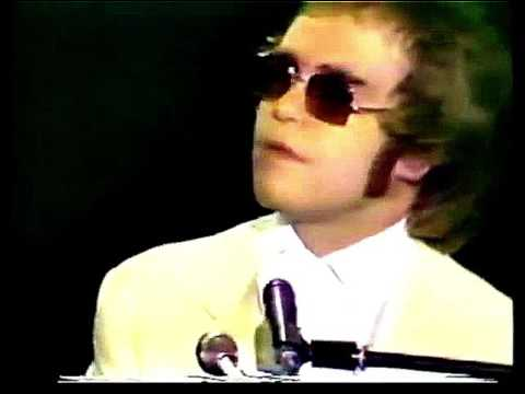 Elton John  Border Song  at the Royal Festival Hall 1972 HD