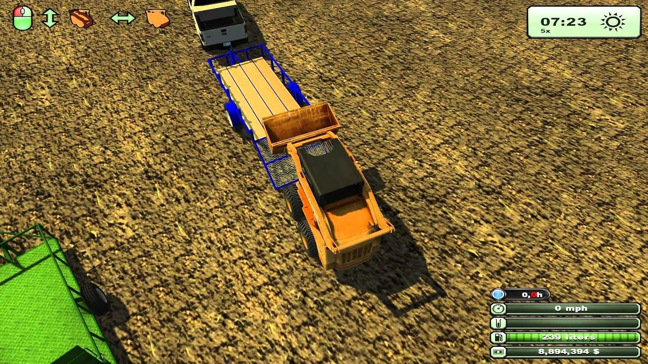 Farming simulator 2013 mods ford f 150 f 350 welding rig bobcat mod