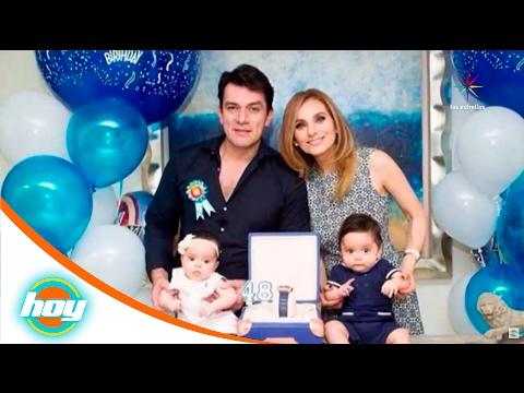 ¡Elizabeth Álvarez ya no quiere un tercer hijo!  Calientitas del espectáculo  Hoy
