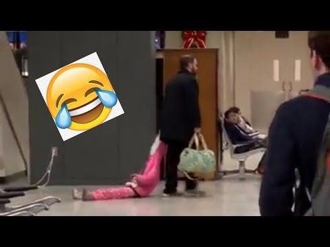 Doc Reno - Frustrated dad drags daughter around airport