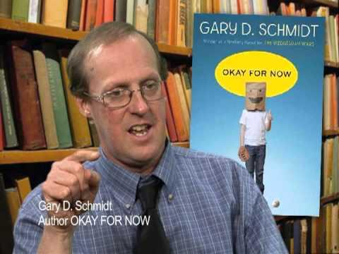 Okay For Now Author Dr Gary Schmidt Youtube