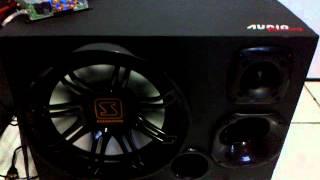 "Soundigital SD250.2 + 1 Flex 12"" + 1 ST200 + 1 D200 [CETREL AUTO SOM]"