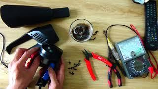 Chế lại máy hút bụi cầm tay mini KHÔNG DÂY (tẩu nguồn 3.7v)