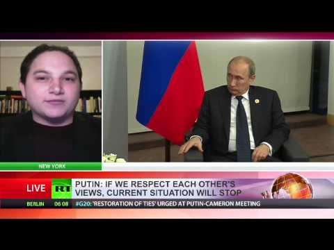 Geopolitical analyst Eric Draitser interview with RT International on G20 summit