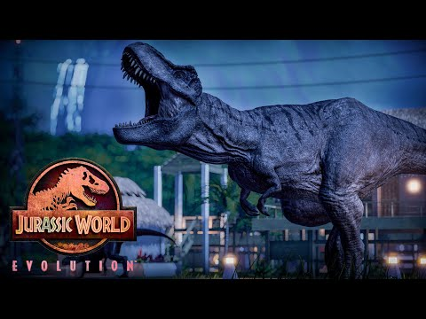 GHOSTS, HAUNTED FORESTS & SPOOKY CEMETERY || Halloween in Jurassic World Evolution |