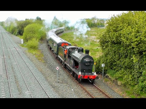 RPSI's ''Cork & Kerry'', ''Second Strand'' & 131 Renaissance - 10th - 15th May 2018