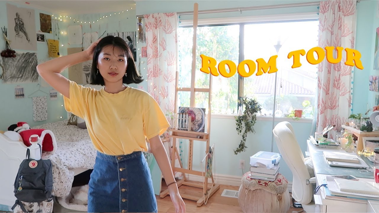 Artsy Room Tour 2017 🍋 Youtube