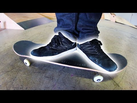 SHOES ON THE OPPOSITE FEET | STUPID SKATE EP 114