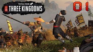 Total War: Three Kingdoms (Huang Shao) - part 1 (Zatím je to nehoráznej maglajz)