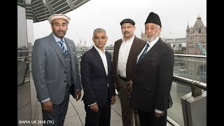 London Mayor attends charity reception at City Hall