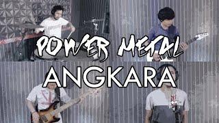 Power Metal - Angkara | METAL COVER by Sanca Records