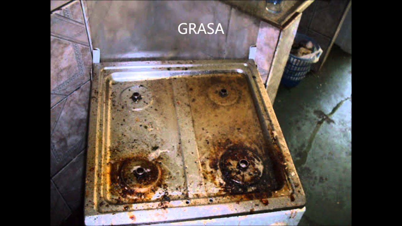 Oramic estufas youtube - Como limpiar una cocina muy sucia ...