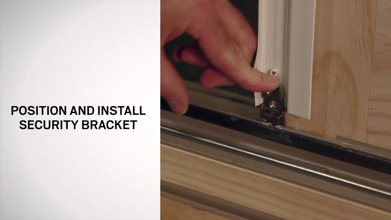Panel Replacement (Operating And Stationary) On Andersen® A Series Frenchwood  Gliding Patio Doors