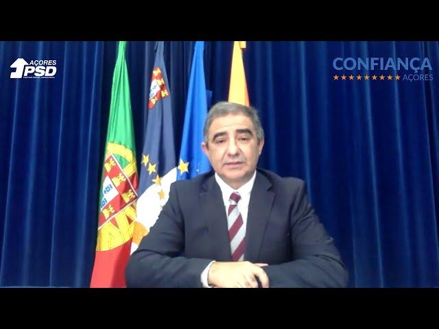 COVID-19. Vídeoconferência do presidente do PSD/Açores
