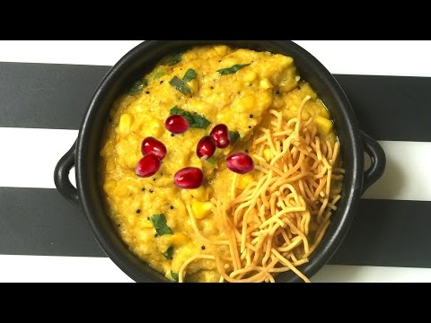 Makai no Chivdo Khichdi or Chundo | Indian Corn Chowder | Bhavna's Kitchen