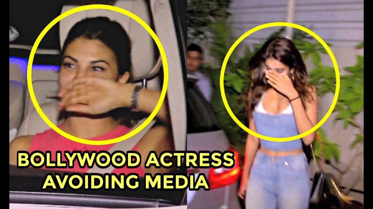 Bollywood Actress Avoiding Media - Jacqueline Fernandez, Nidhhi Agerwal, Jhanvi Kapoor
