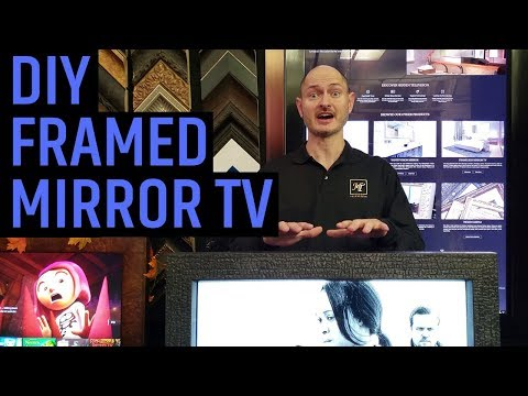 framed-mirror-tv:-the-ultimate-diy-guide-|-how-to-hide-your-tv-with-a-mirror