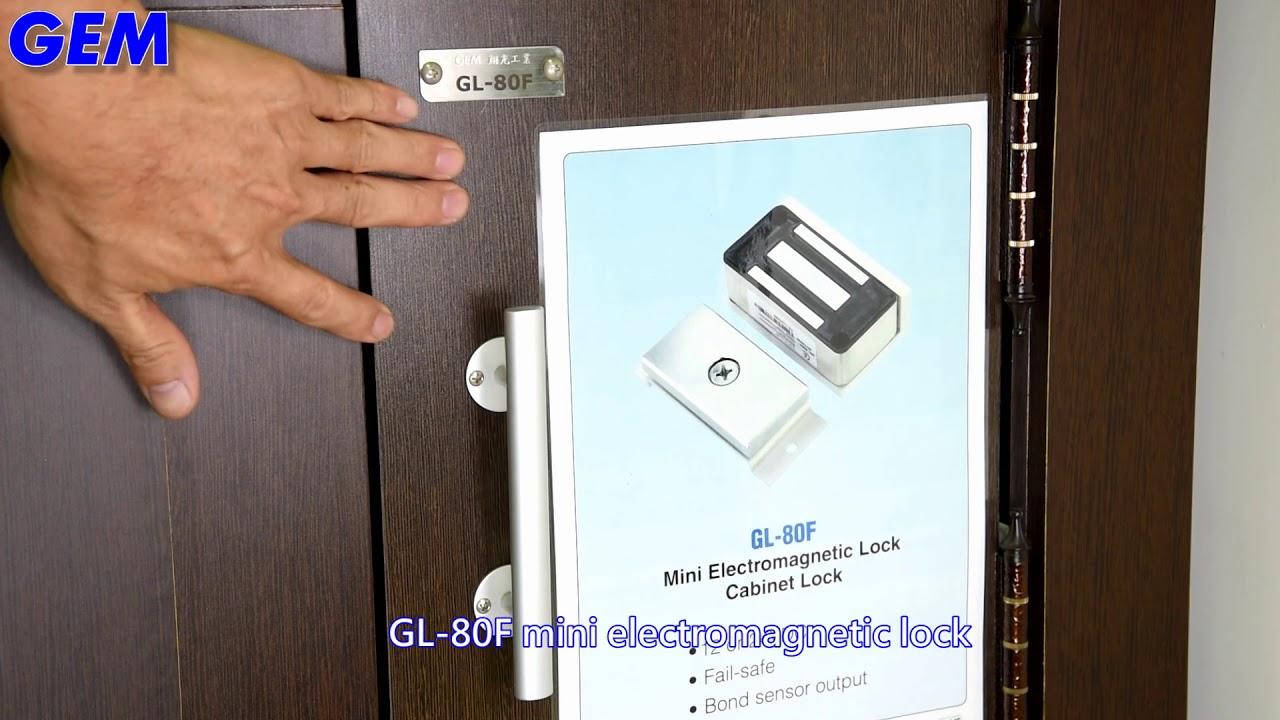 Gl 80f Electromagnetic Cabinet Lock