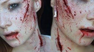 Shattered Glass FX | Special FX Makeup Tutorial