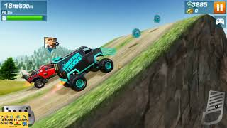 GAMEPLAY MONSTER TRUCKS RACING 2019 MANOBRAS QUE DESAFIAM A GRAVIDADE E CORRIDAS DISP ANDROID #01