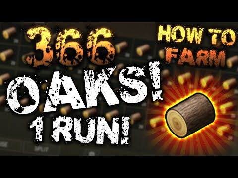 HOW TO FARM 366 OAK LOGS IN 1 RUN! - Last Day On Earth: Survival