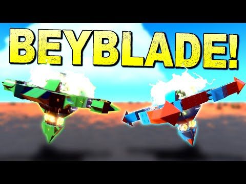 Everything Is Better With Destruction, Especially BEYBLADE! [BEST CREATIONS] - Trailmakers Gameplay