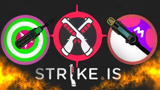 Strike.is The Game! New Incredibly Addicting Multiplayer Game! Combine of Agar.io + Diep.io