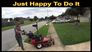 Cutting Grass - Mowing Last 2 Lawns of the Week #SideHustle